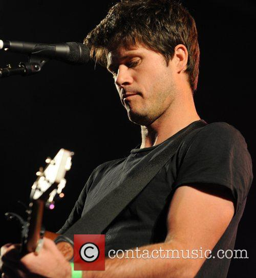Seth Lakeman performs on stage at Folk By...