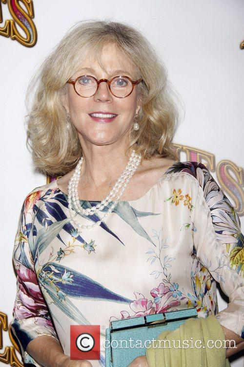 Blythe Danner Opening night of the Broadway musical...