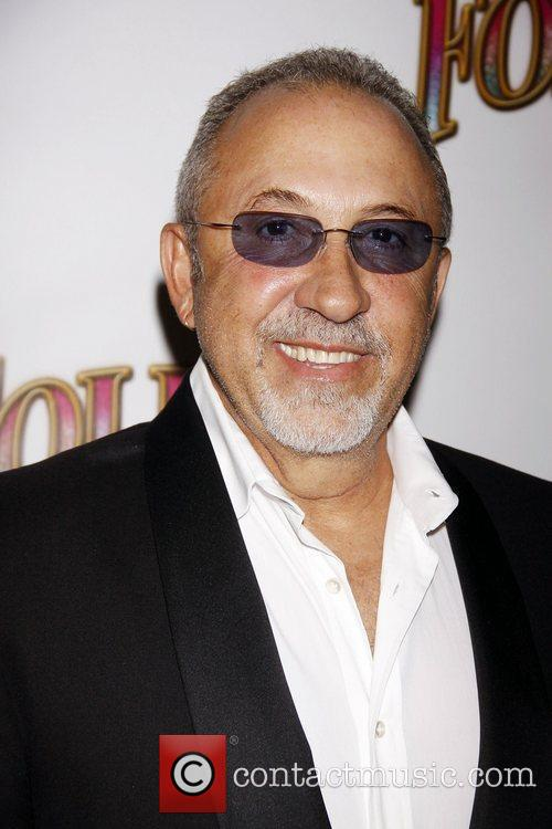 Emilio Estefan Opening night of the Broadway musical...