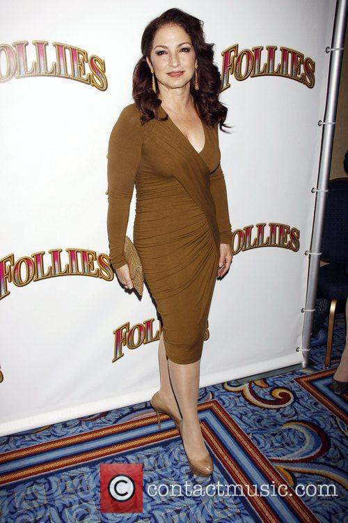 Gloria Estefan Opening night of the Broadway musical...