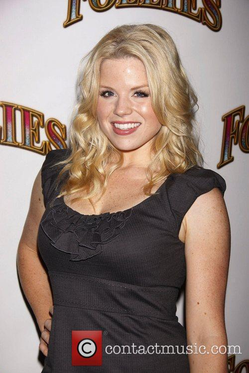 Megan Hilty from the TV show Smash Opening...