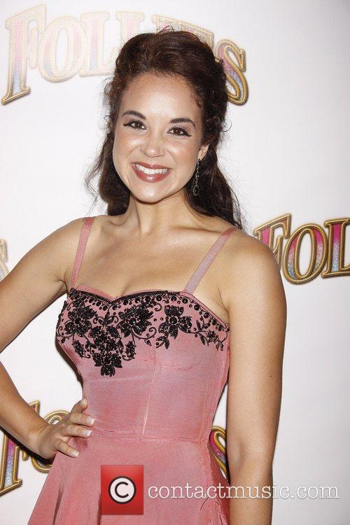 Alexandra Silber Opening night of the Broadway musical...