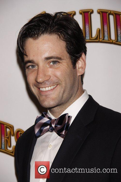 Colin Donnell Opening night of the Broadway musical...