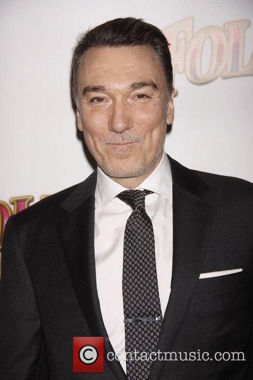 Patrick Page Opening night of the Broadway musical...