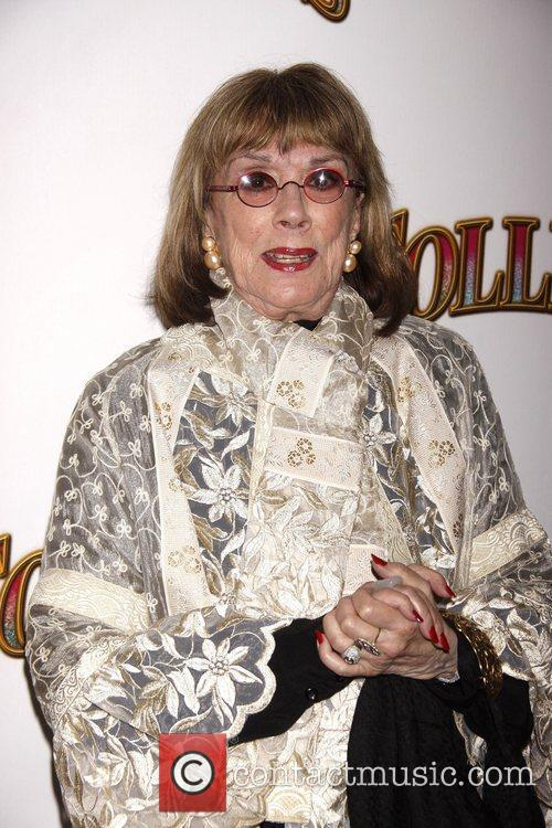 Phyllis Newman Opening night of the Broadway musical...