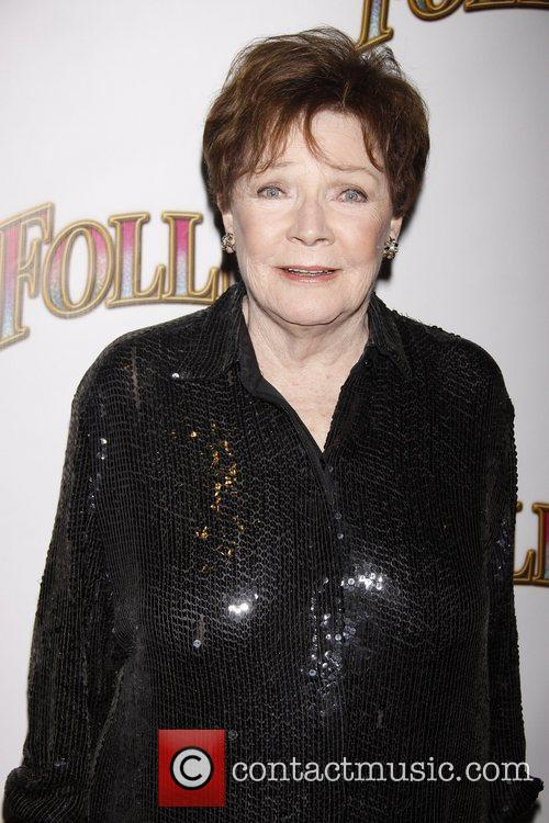 Polly Bergen Opening night of the Broadway musical...