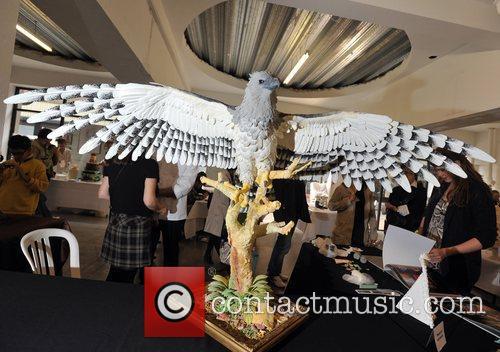 Eagle created by Scott O'Hara Experimental Food Society...