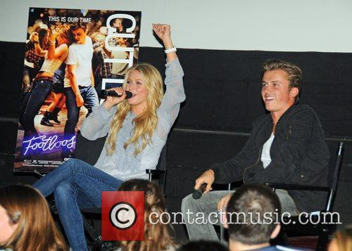 Julianne Hough, Footloose and Kenny Wormald 2