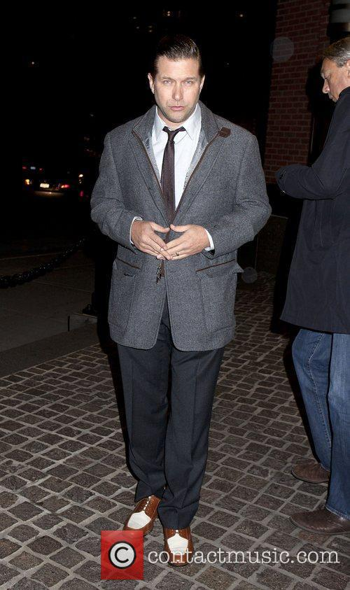 Stephen Baldwin,  at the Cinema Society screening...