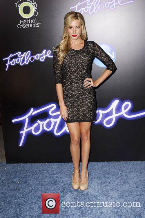 Ashley Tisdale Los Angeles Premiere of Footloose held...