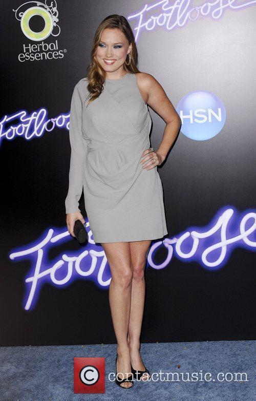 Clare Grant Los Angeles Premiere of Footloose held...