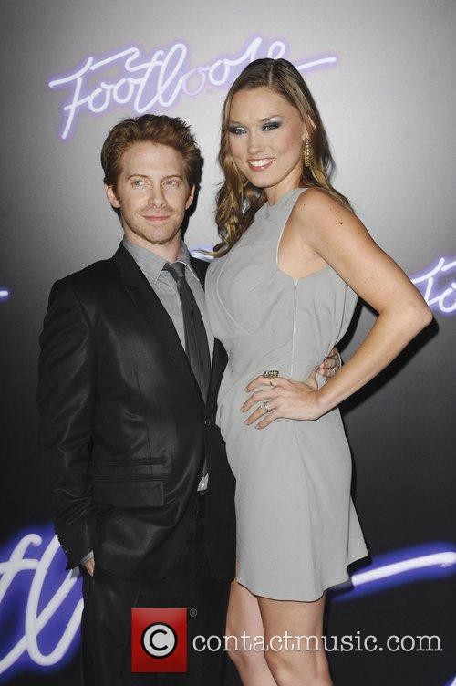 Seth Green and Clare Grant Los Angeles Premiere...