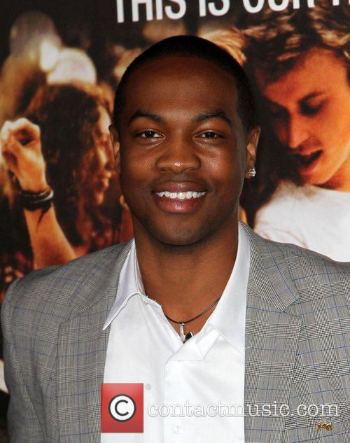 Ser'Darius Blain Los Angeles Premiere of Footloose held...