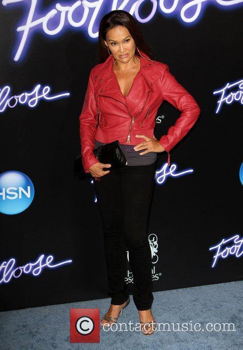 Tia Carrere Los Angeles Premiere of Footloose held...