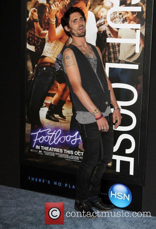 Tyson Ritter Los Angeles Premiere of Footloose held...