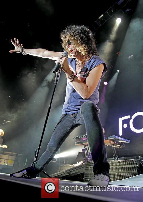 Foreigner performing at Manchester MEN Arena