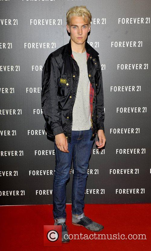 Jesse Burgess launch party for 'Forever 21' to...