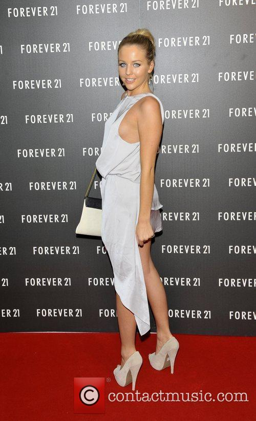 Lydia Bright launch party for 'Forever 21' to...