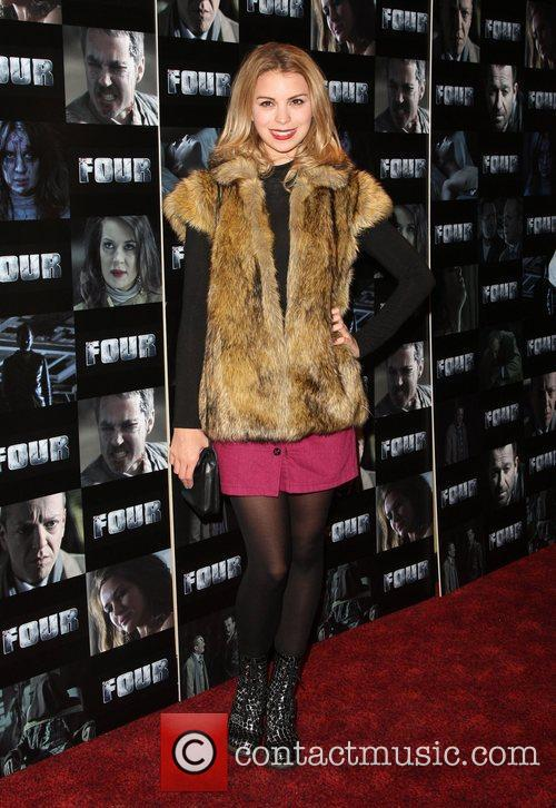 Kylie Babbington Four UK film premiere held at...