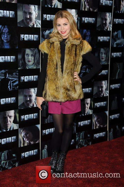 Kylie Babbington UK premiere of 'Four' at The...