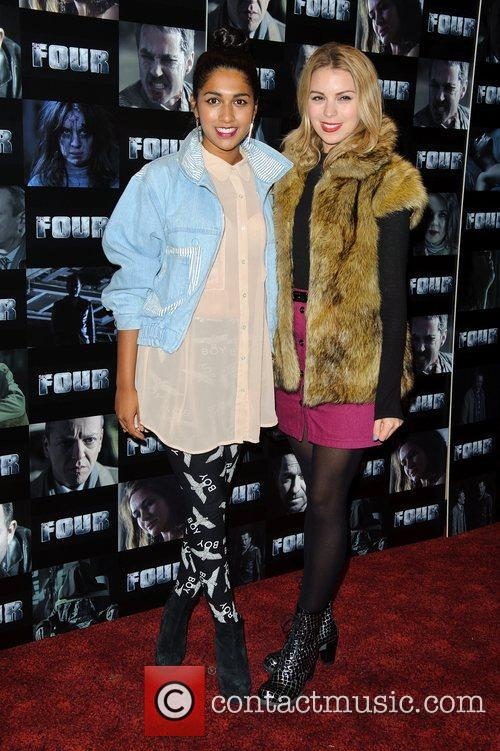 Meryl Fernandes and Kylie Babbington UK premiere of...