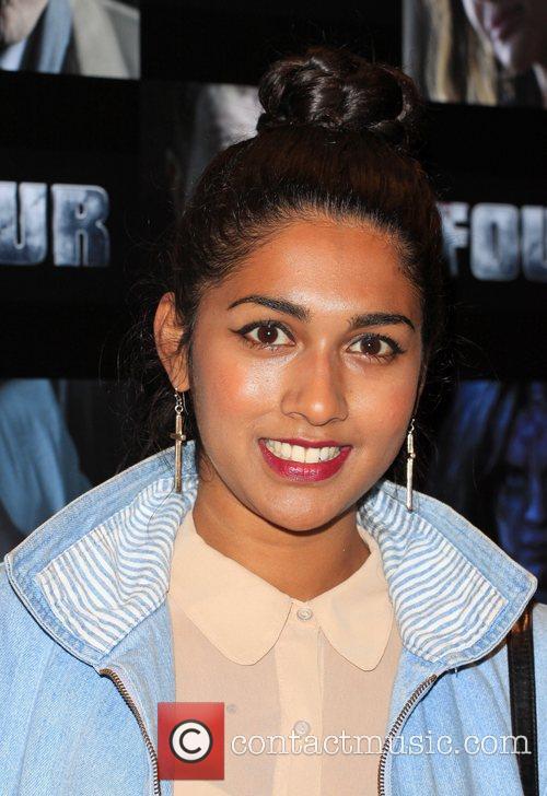 Meryl Fernandes UK film premiere of 'Four' held...