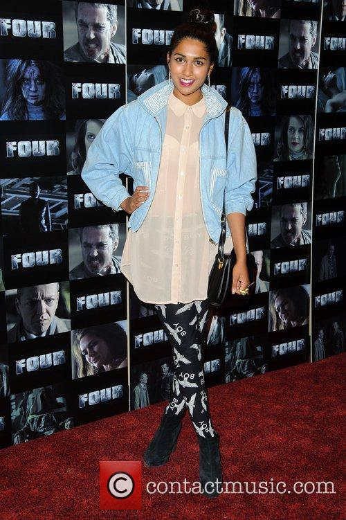 Meryl Fernandes UK premiere of 'Four' at The...