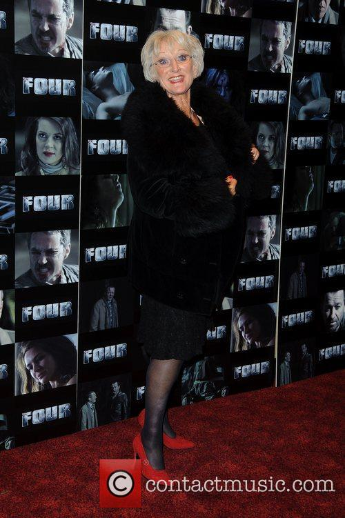 Polly Perkins UK premiere of 'Four' at The...