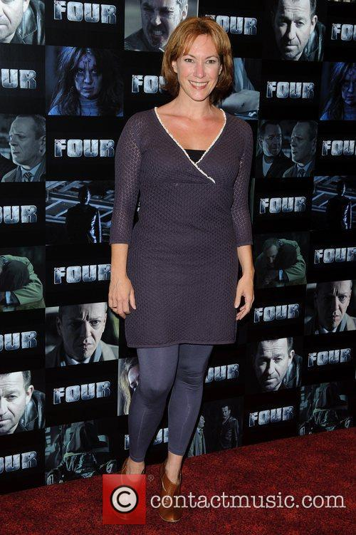 Tanya Franks UK premiere of 'Four' at The...