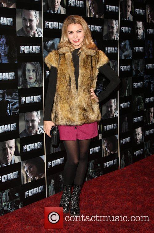 kylie babbington four uk film premiere held 3553720