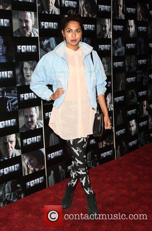 Meryl Fernandes Four UK film premiere held at...