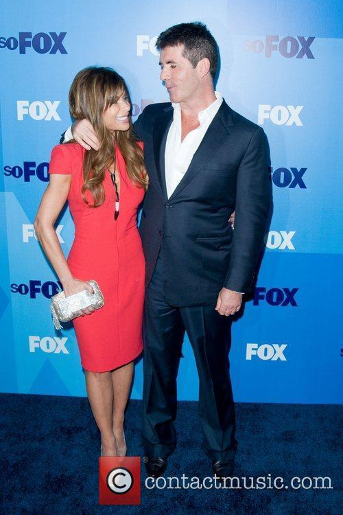 Paula Abdul and Simon Cowell 9