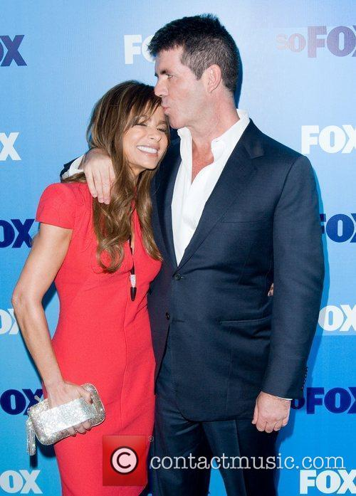 Paula Abdul and Simon Cowell 7