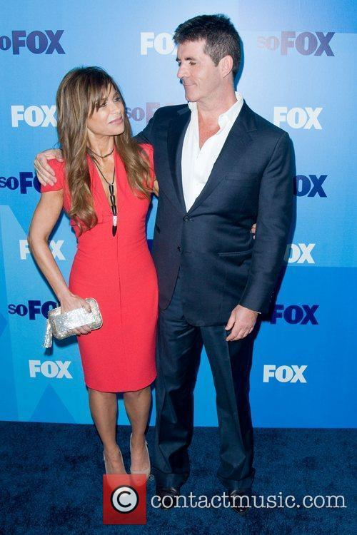 Paula Abdul and Simon Cowell 2