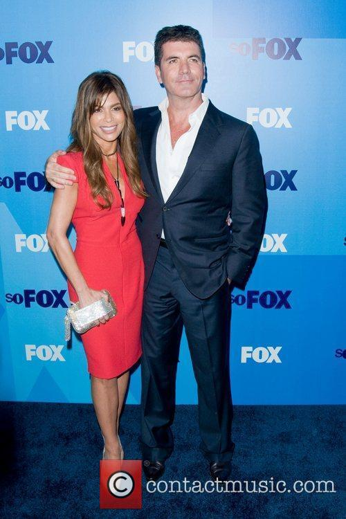 Paula Abdul and Simon Cowell 5