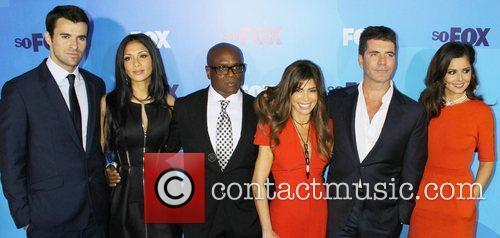 Steve Jones, Cheryl Cole, Nicole Scherzinger and Paula Abdul 2