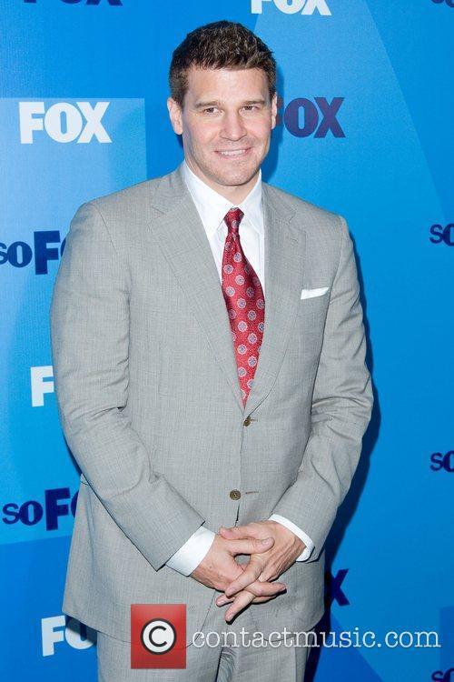 David Boreanaz,  FOX upfront presentation - Arrivals...