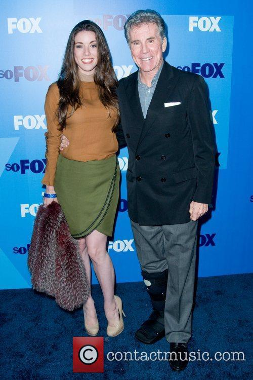 John Walsh with his daughter FOX upfront presentation...