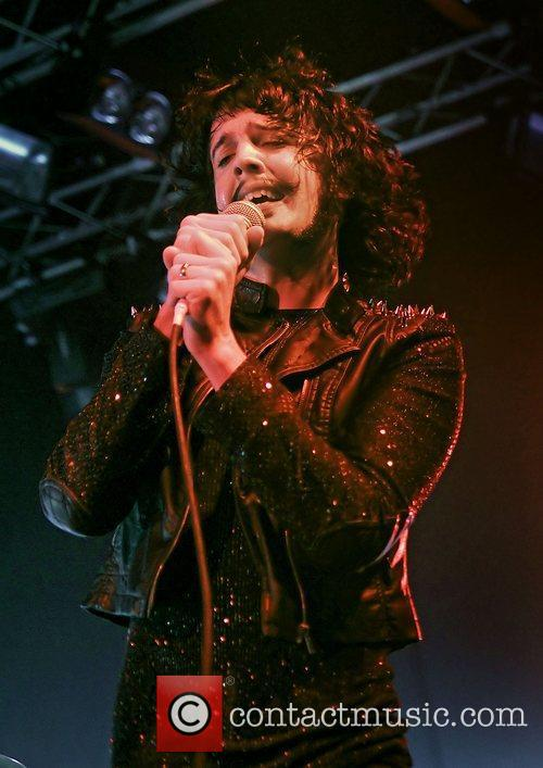 Foxy Shazam  performing at the Manchester Academy...