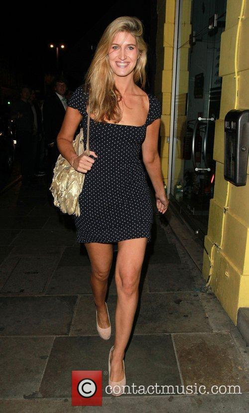 'Made In Chelsea' star Francesca Hull visits Raffles...