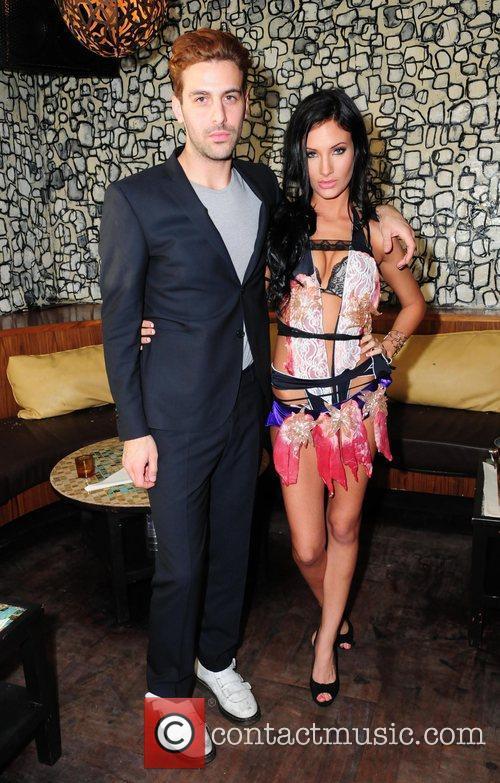 Fashion Designer Frank Fernandez and Model The Haute...