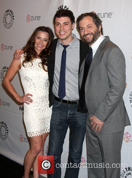 Linda Cardellini, Daley and Judd Apatow