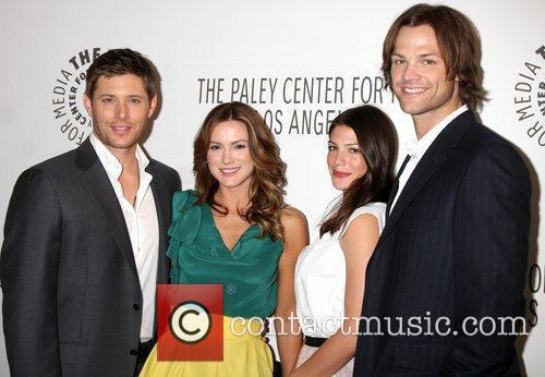 Jensen Ackles, Danneel Harris and Jared Padalecki