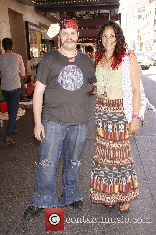 Best Hippie garb winners: Jeremy Wein and Stephanie...