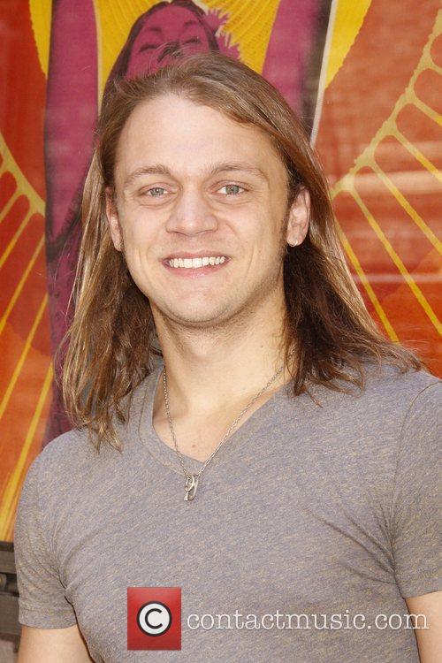 Matt DeAngelis attend the 'Hair' on Broadway Free...