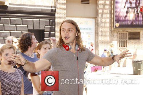 Matt DeAngelis attends the 'Hair' on Broadway Free...