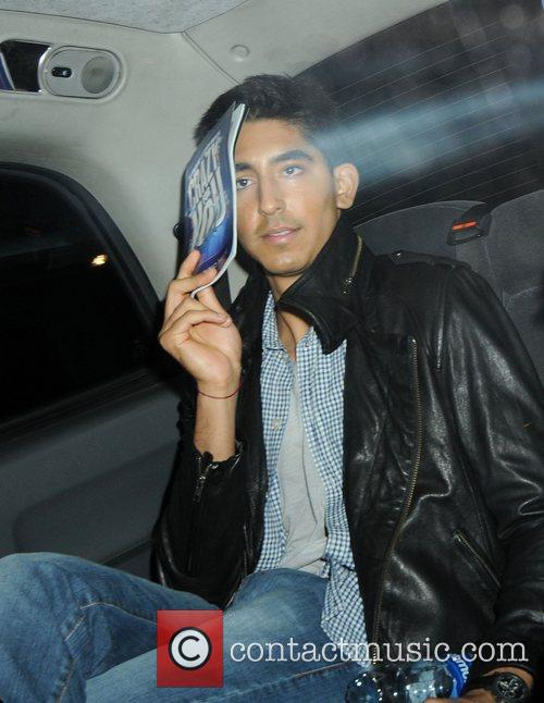 Dev Patel leaving Crazy For You Show at...