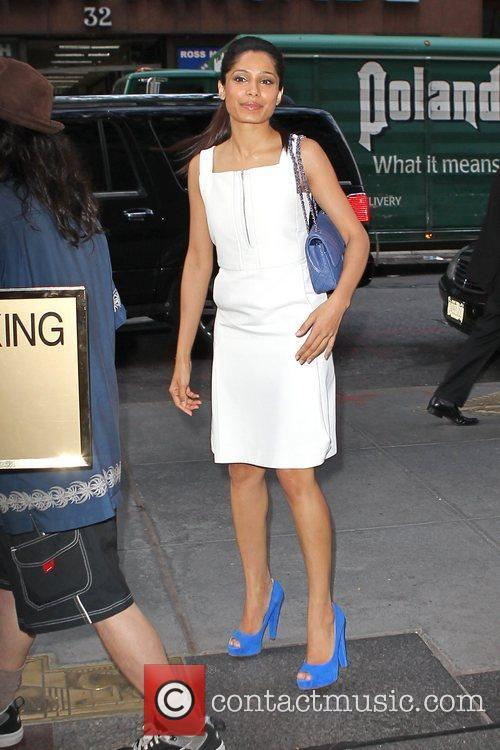 Freida Pinto and Chanel 2