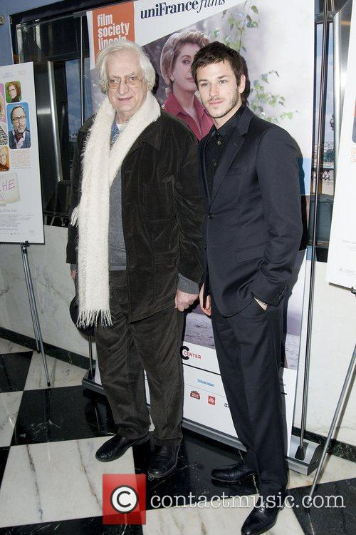 Bertrand Tavernier and Gaspard Ulliel 1