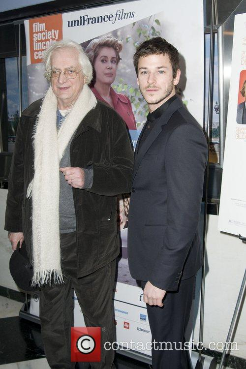 Bertrand Tavernier and Gaspard Ulliel 2